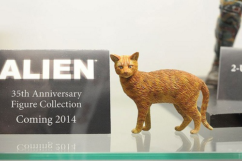 Ripley's Cat from ALIENS by Neca