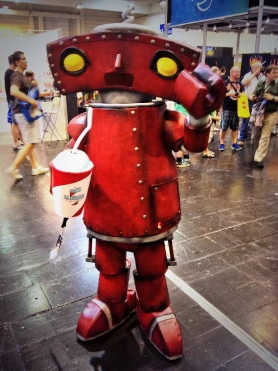 Bad Robot cosplay at Star Wars Celebration