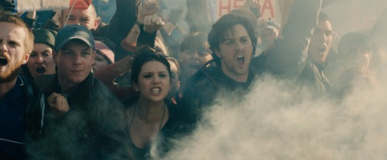 Avengers: Age of Ultron: Elizabeth Olsen as Wanda Maximoff aka Scarlet Witch and Aaron Taylor-Johnson as Pietro Maximoff aka Quicksilver