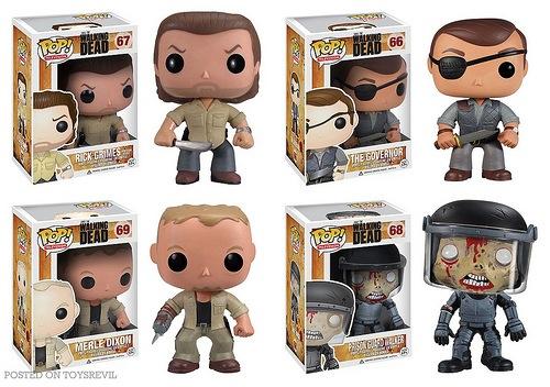 The Walking Dead Pop! - Series 3 from Funko