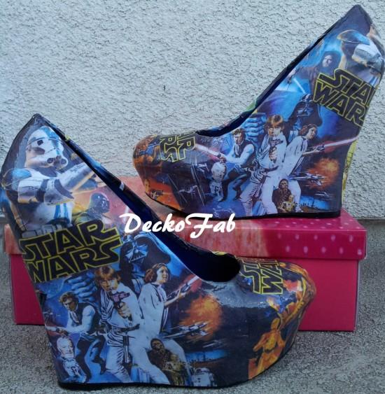 Star Wars Wedge Heels