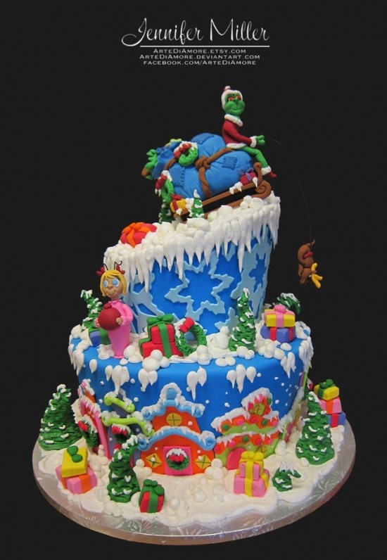 How the Grinch Stole Christmas Cake