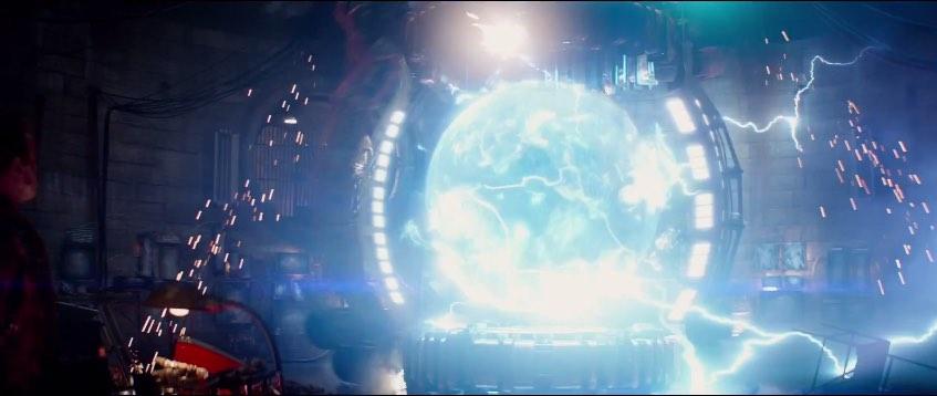 Terminator Genisys time displacement machine