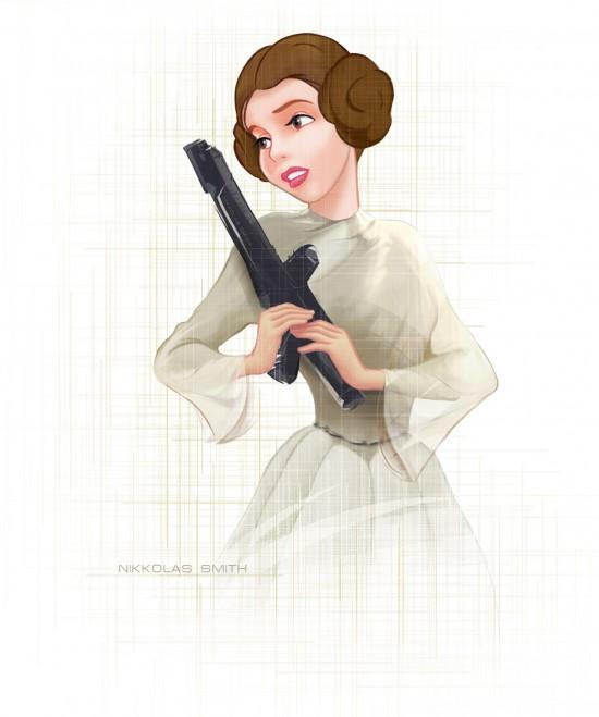 Disney's Newest Princess by Nikkolas-Smith