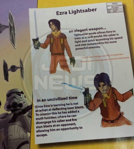 star wars rebels lightsaber
