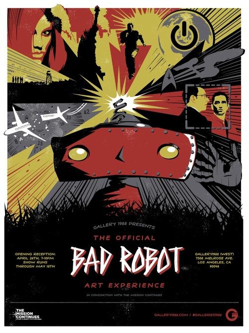 Gallery1988 has announced a Bad Robot art show