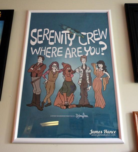 James Hance's Scooby Doo/Firefly mashup