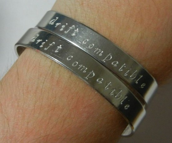 Handmade 'Drift Compatible' Bracelet Duo