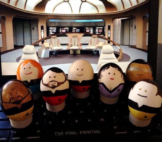 Star Trek: The Next Generation Easter Eggs