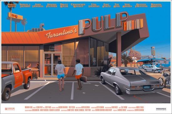 PULP FICTION print from Laurent Durieux