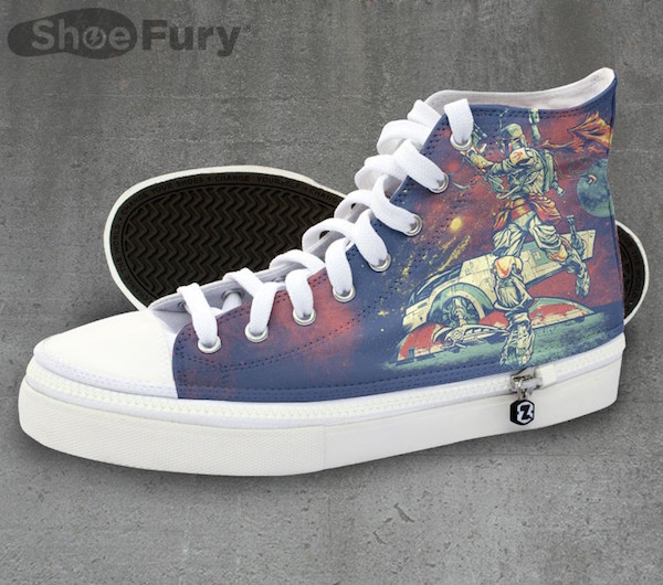 Boba Fett's Hunting On These High Tops