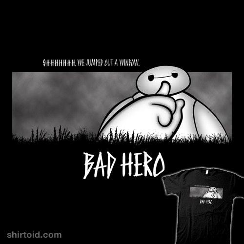 Bad Hero t-shirt