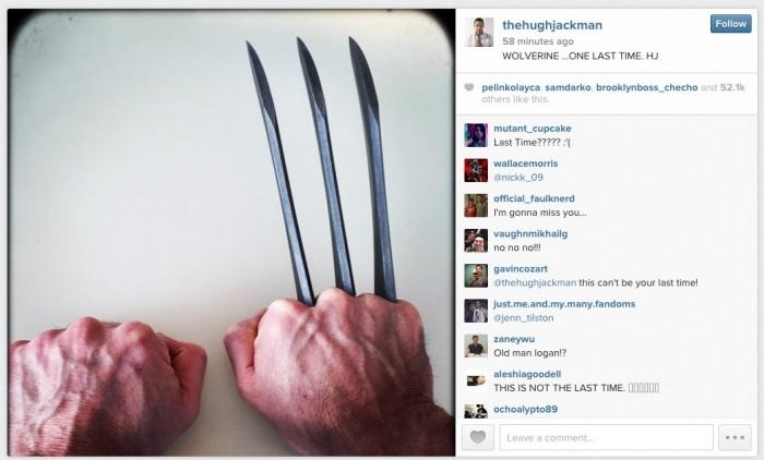 Hugh Jackman Wolverine ending