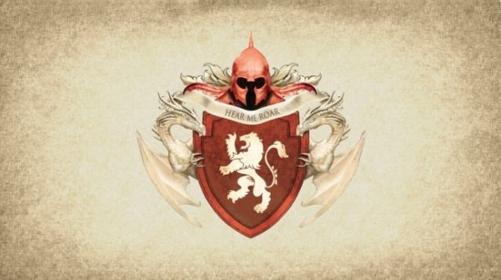 German Style Game of Thrones House Sigils