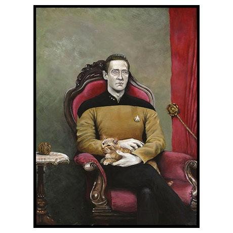 Star Trek TNG: Data Poster