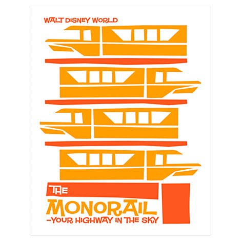 Retro Monorail Limited Edition Tee