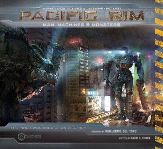 New PACIFIC RIM Image On Official Tie-In Book Cover