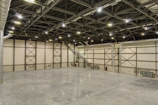 Stage 4 of Pinewood Studios in Toronto is referred to as mega stage