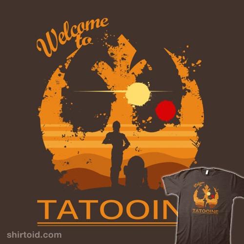 Welcome to Tatooine t-shirt