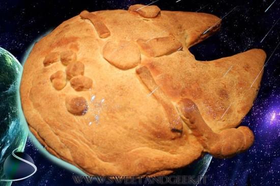 BAKE Savory Millennium Falcon pie