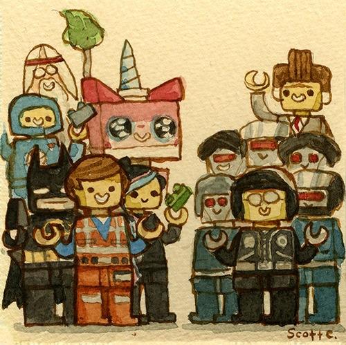 Scott C's Great Showdown tribute to The LEGO Movie