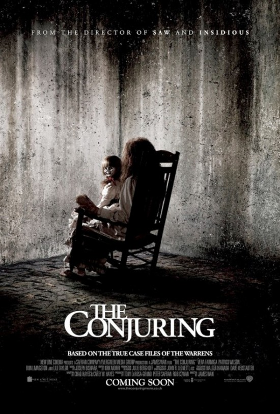 International Poster for James Wan's Horror 'The Conjuring'