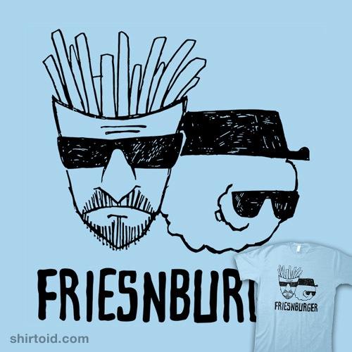 Friesnburger t-shirt