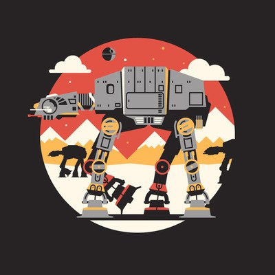 Star Wars piece from DKNG's icon show