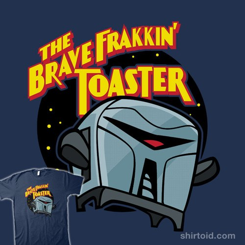 The Brave Frakkin' Toaster t-shirt