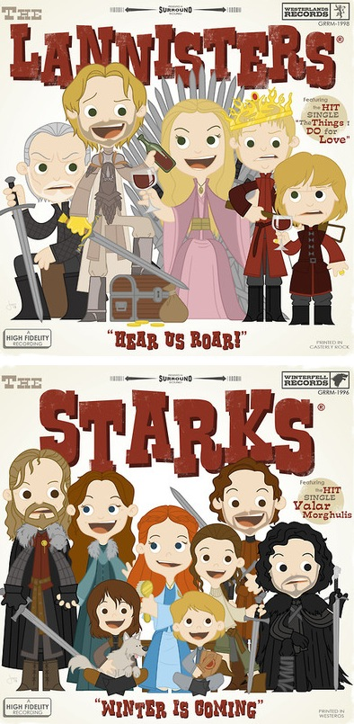 Joey Spiotto's Game of Thrones prints