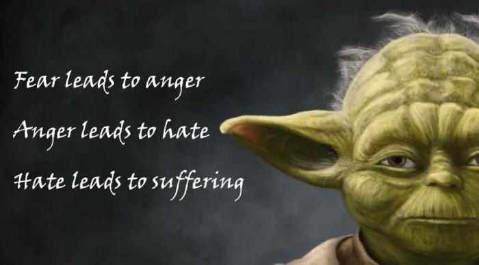 yoda fear