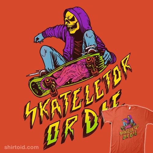 Skateletor or Die t-shirt