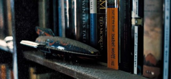 interstellar Bookshelf Ghost