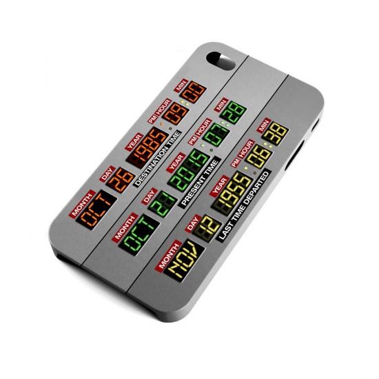 Back to the Future Delorean dashboard phone-case