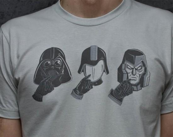 3x Evil T-Shirt