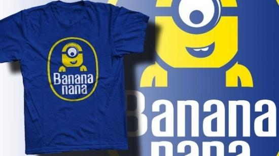 Minion Banana Tee