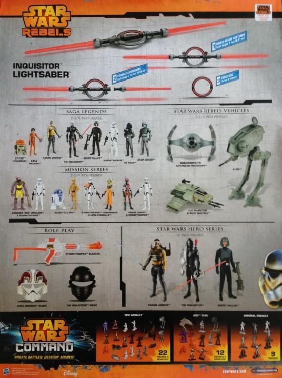 Hasbro Star Wars Rebels Product Poster