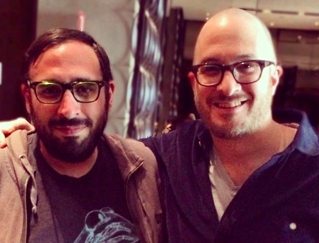 Darren Aronofsky and Peter Sciretta