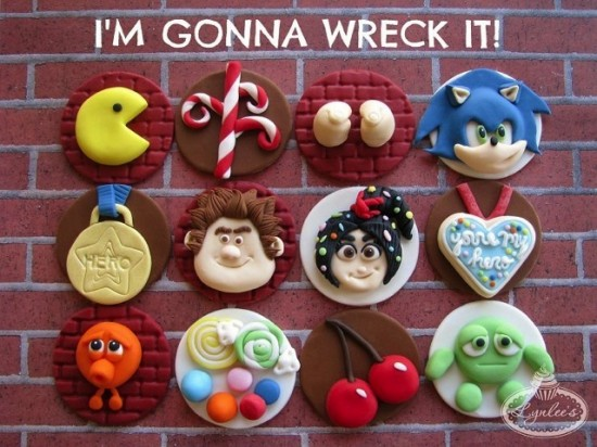 Wreck-It Ralph Cupcake Toppers