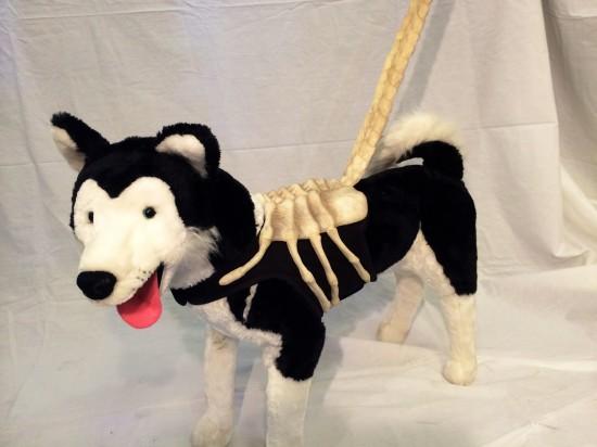 Alien Face Hugger dog leash with harness