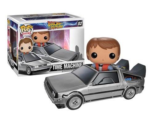 Funko Has A Back To The Future DeLorean