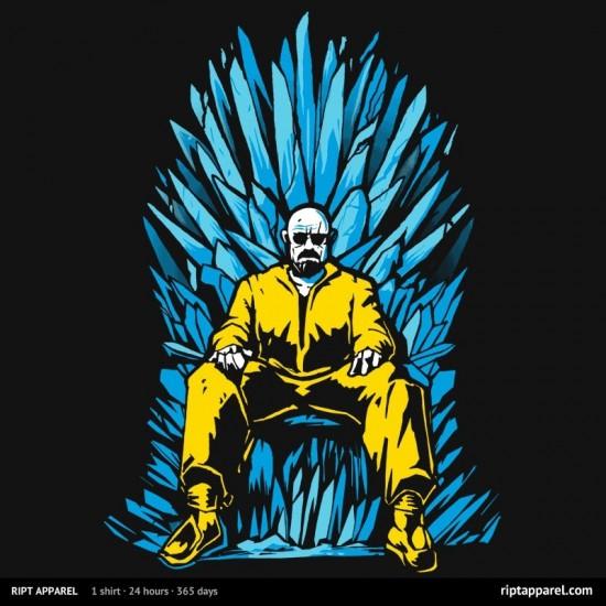 "Breaking Bad/Game of Thrones-inspired design ""Game of Chemistry"""