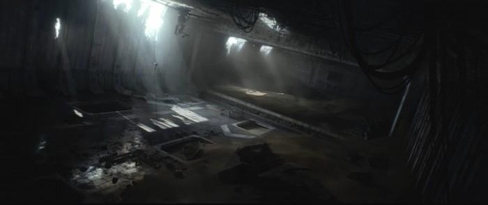 Star Wars: The Force Awakens Rey star destroyer