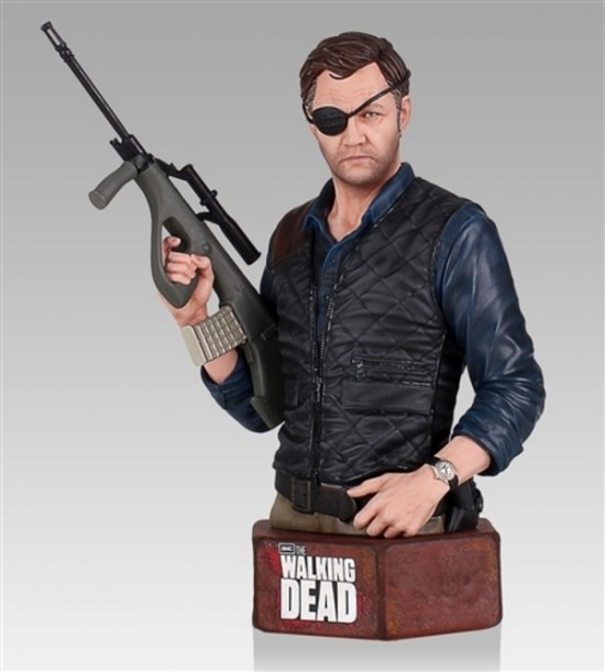 Walking Dead The Governor Mini Bust