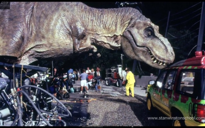 Jurassic Park animatronic