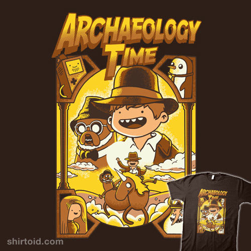 Archaeology Time t-shirt