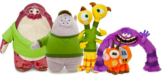 First Wave of 'Monsters University' Merchandise
