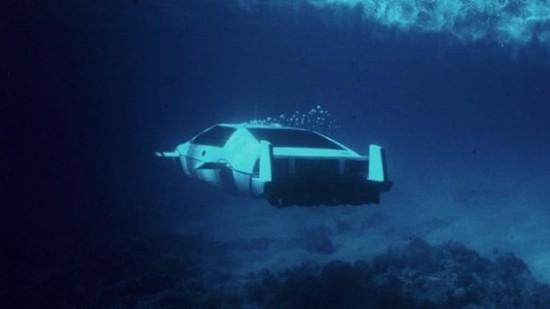 James Bond 'Submarine' Car