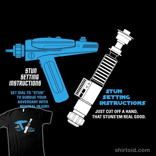 Set to Stun t-shirt