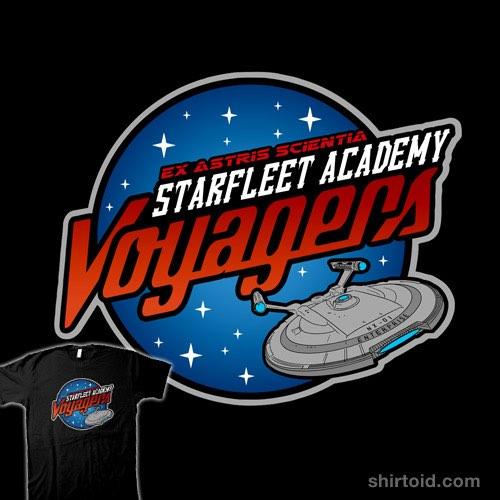 Starfleet Academy Voyagers t-shirt